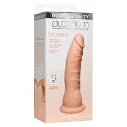 Platinum Tru Ride Slim 9 Inch Flesh dildo fallo realistico in silicone