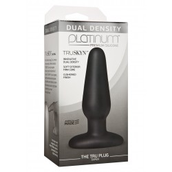 Platinum The Tru Plug Taper Black plug dilatatore anale silicone