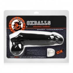Oxballs Daddy Cock Sheath Black estensione del pene nero