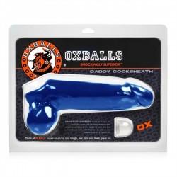 Oxballs Daddy Cock Sheath Blue estensione del pene blue