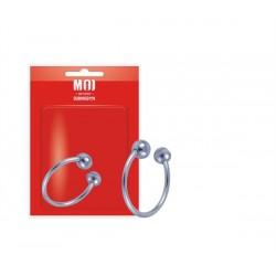 MOI The Open Corona Stainless Steel Ring Open 30 mm. anello per il glande in acciaio inox