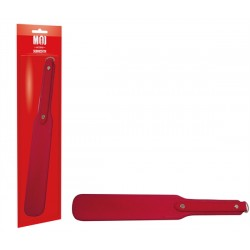MOI Slim Paddle paletta sottile rossa per sculacciare per giochi s/m