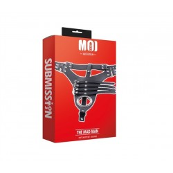 MOI The Mad Man Man's Chastity Belt Adjustable braga di costrizione maschile per giochi s/m