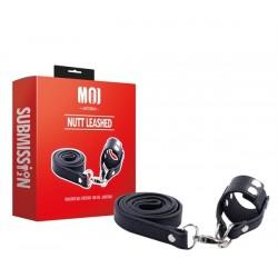MOI Nutt Leashed Parachute Ball Stretcher One Size Adjustable ball stretcher regolabile, con guinzaglio