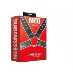 MOI X Marks The Spot Man's Body Harness One Size Adjustable harness per uomo regolabile