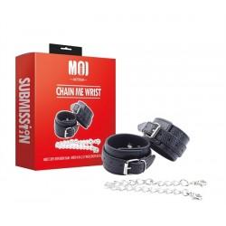 MOI Chain Me Wrist Cuffs With Iron Chain restrizione regolabili per polsi con catenelle
