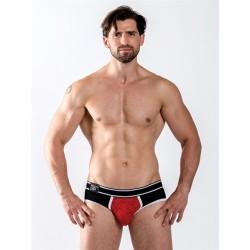 Mister B URBAN Castro Brief Red slip underwear intimo uomo