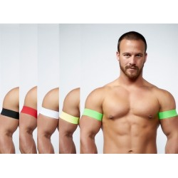 MISTER B URBAN CLUB BICEPS BANDS SET DI DUE BANDE PER I BICIPITI disponibili in vari colori
