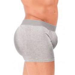 Rounderbum Padded Boxer Trunk Underwear Grey boxer calzoncini imbottiti grigio intimo uomo
