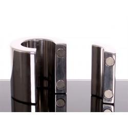 Magnetic Ball Stretcher magnetico per testicoli diametro 35 mm. altezza 56 mm. in acciaio inox pesante