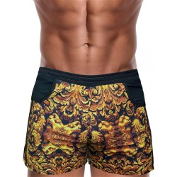 Danny Miami God Of Kings Beach Shorts Multi boxer calzoncini costume da bagno