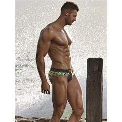 2Eros Tiger Swim Brief Swimwear Multicolor slip costume da bagno