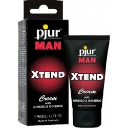 Pjur Man Xtend Cream With Ginkgo & Ginseng 50 ml. crema per il miglioramento dell'erezione maschile