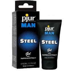 Pjur Man Steel Gel With Paprika Extract 50 ml. gel per il miglioramento dell'erezione maschile