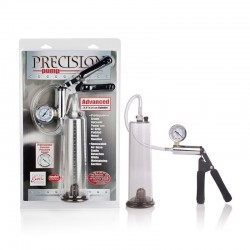 Calexotics Precision Pump Advanced 2 pompa con cilindro per sviluppare il pene