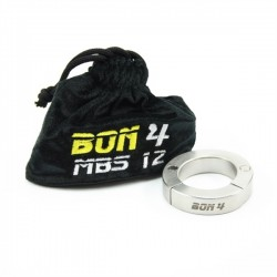BON4 Stackable Magnetic Ball Stretcher 12 mm. 130 gr. Ø 37 stringi testicoli in acciaio inox chiusura magnetica