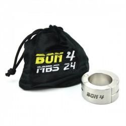BON4 Stackable Magnetic Ball Stretcher 24 mm. 257 gr. Ø 37 stringi testicoli in acciaio inox chiusura magnetica