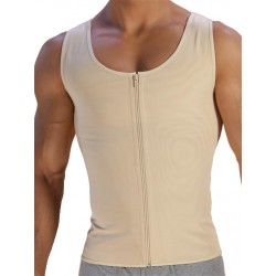 Rounderbum Xtreme Compression Shirt T-Shirt Nude canotta contenitiva intimo uomo