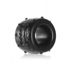 Oxballs Pup-Balls Ball Stretcher Black cockring in silicone
