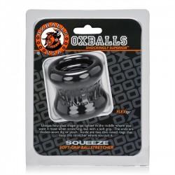 Oxballs Squeeze Ballstretcher Black ball stretcher TPR nero estensibile