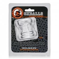 Oxballs Squeeze Ballstretcher Clear ball stretcher TPR trasparente estensibile