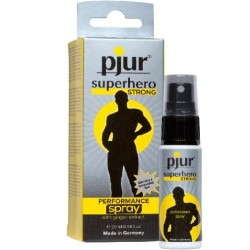 Pjur Superhero Strong Delay 20 ml. energertico sessuale