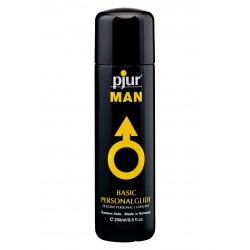 Pjur Man Basic Water Glide 250 Ml. lubrificante intimo a base di silicone ideale per il sesso e per la penetrazione anale
