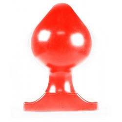 All Black Big Boy XXL Butt Plug 12 cm. dilatatore anale rosso