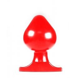 All Black Big Boy XXL Butt Plug 11 cm. dilatatore anale rosso