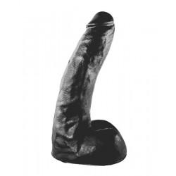 All Black Dildo 22 cm. [AB63] dildo fallo realistico nero