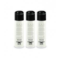 Mister B Lube 90 ml. (3 flaconcini da 30 ml. tascabili) lubrificante intimo a base acquosa