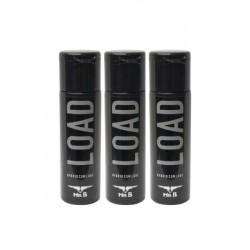 Mister B Load 90 ml. (3 flaconcini da 30 ml. tascabili) lubrificanti intimo simile allo sperma ibrido a base acquosa e silicone