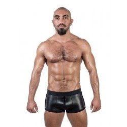 Mister B Neoprene Shorts 3 Way Full Zip Black calzoncini in neoprene con zip