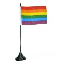 Rainbow Flag Bandierina Gay Pride Rainbow bandierina da tavolo arcobaleno