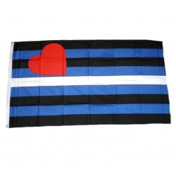 Leather Flag 90 x 150 cm. Bandiera Leather Gay Pride