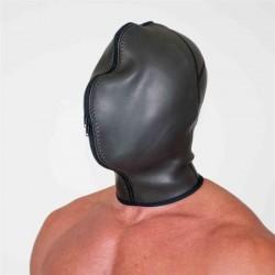 665 Neoprene Confinement Hood doppia maschera in neoprene con zip