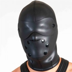 665 Neoprene Ultimate Lock Out Hood doppia maschera cappuccio in neoprene aderente con zip