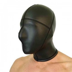 665 Neoprene Panel Hood Pinhole Eyes Mouth  Small / Medium maschera cappuccio in neoprene aderente con fori