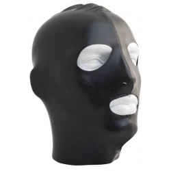 Mister B Datex Hood Eyes and Mouth Open maschera cappuccio in datex materiale pregiato