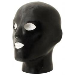 Mister B Rubber Heavy Duty Anatomical Hood With Holes maschera cappuccio realizzato rubber gomma