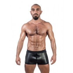 Mister B Neoprene Pouch Shorts Black calzoncini in neoprene con zip