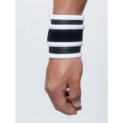 Mister B Neoprene Wrist Wallet Black White portafoglio in neoprene
