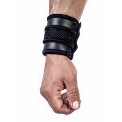 Mister B Neoprene Wrist Wallet Black bracciale portafoglio in neoprene