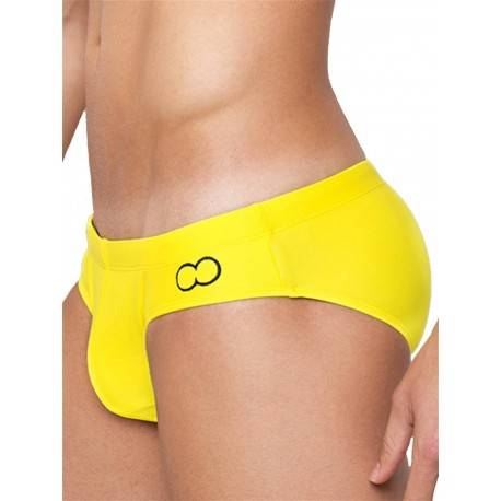 2Eros Core Swimwear Yellow slip costume da bagno