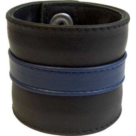 Wristband blue stripe