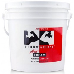 Elbow Grease Hot Cream 3,4 kg. 3785 ml. 1 Gallon lubrificante intimo riscaldante cremoso per fist fucking