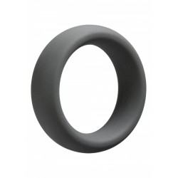 OptiMALE C Ring 55 mm. cockring spesso in silicone grigio