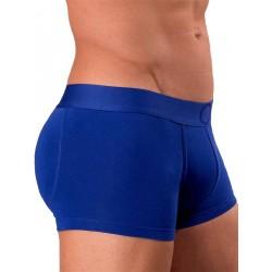 Rounderbum Colors Padded Boxer Trunk Underwear Blue boxer calzoncini imbottiti dietro blue intimo uomo