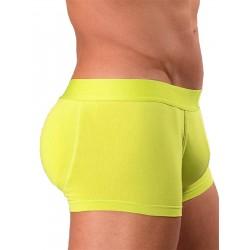 Rounderbum Colors Padded Boxer Trunk Underwear Yellow boxer calzoncini imbottiti dietro giallo intimo uomo