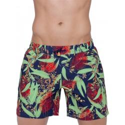 2Eros Australiana Flora Swimshorts Bottle Brush boxer calzoncini costume da bagno